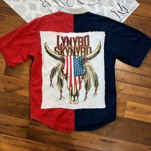 LYNYRD SKYNYRD American Rebel Flag Southern Shirt